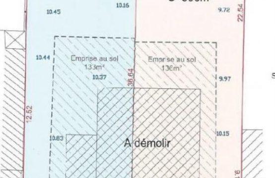 [Vendu par notre agence]  TERRAIN A BATIR MORANGIS – 380 m2