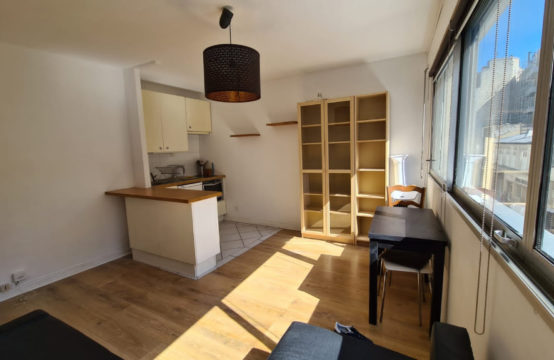 Studio meublé 26 m² Metro 4 SIMPLON